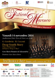 Locandina Deep South Story 14 novembre 2014
